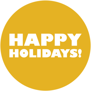 Happy Holidays by Jouluradio Logo