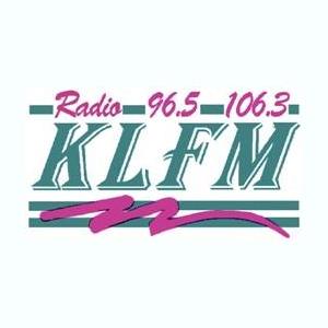 Radio KLFM 96.5 & 106.3 FM Logo