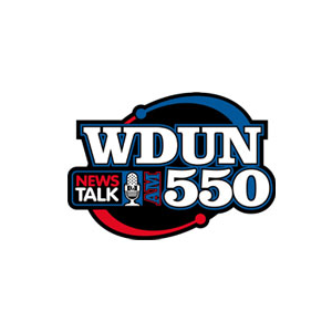 WDUN - North Georgia's Newstalk 550 AM Logo