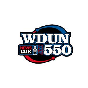 WDUN - North Georgia's Newstalk 550 AM Logo