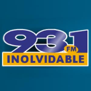 Inolvidable 93.1 FM Logo