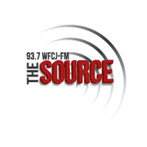WFCJ - The Source 93.7 FM Logo
