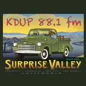 KDUP - Surprise Valley 88.1 FM