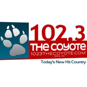 WRHL-FM - The Coyote 102.3 FM Logo
