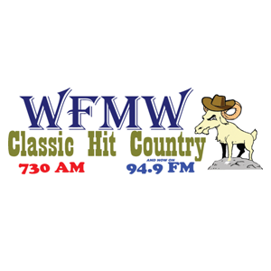 WFMW - Classic Hit Country 730 AM Logo