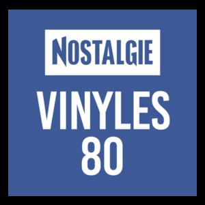 NOSTALGIE VINYLES 80 Logo