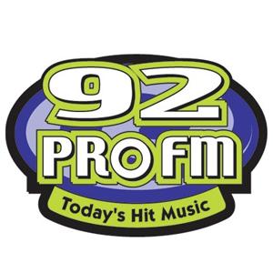 WPRO - 92 PRO FM Logo