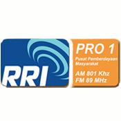 RRI Pro 1 Semarang FM 89.0