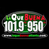 WAZX-FM - La Que Buena 101.9 FM